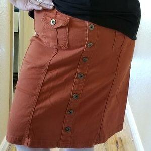 Women's Plus Size Stretchy Skirt